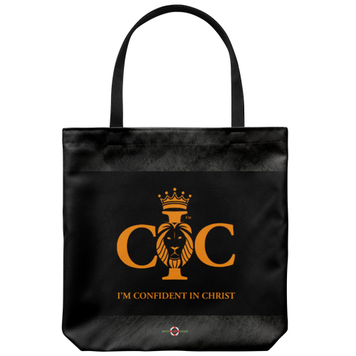 Confident in Christ - Tote Bag