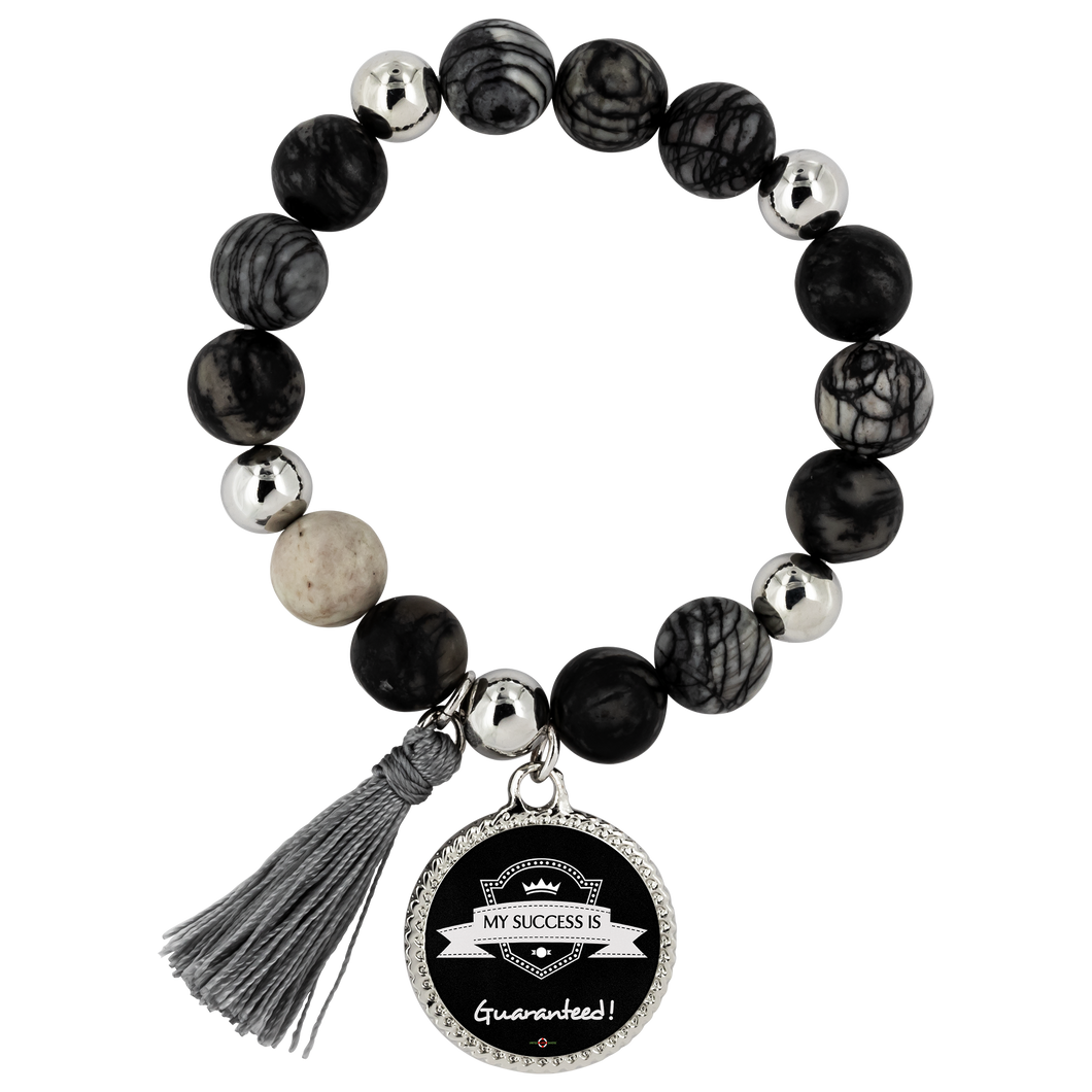 My Success is Guaranteed - Lyric Style Bracelet