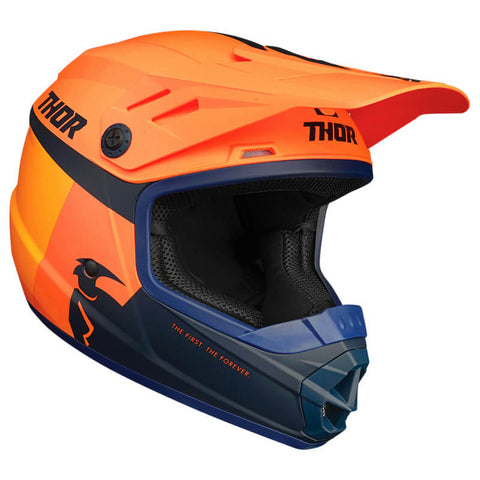 Capacete Infantil THOR SECTOR RACER ORANGE/MIDNIGHT 2021