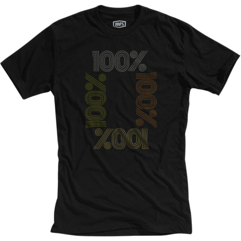 T-shirt 100% ENCRYPTED Preto