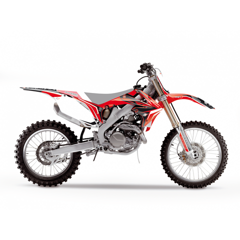 Kit de autocolantes BLACKBIRD DREAM 4 HONDA CRF 250R 10-13 CRF 450R 09-12