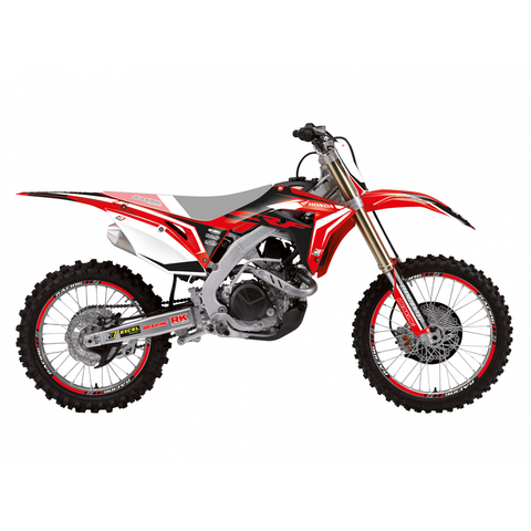 Kit de autocolantes BLACKBIRD DREAM 4 HONDA CRF 250R/RX 18-20, CRF 450R/RX 17-20