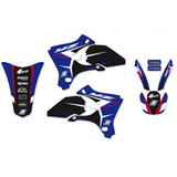 Kit de autocolantes BLACKBIRD DREAM 4 YAMAHA YZF 250/450 03-05