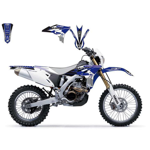 Kit de autocolantes BLACKBIRD DREAM 3 para YAMAHA WR 450F 12-15