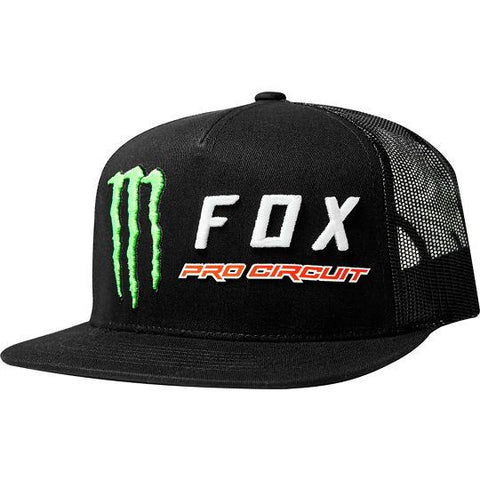 Boné FOX MONSTER SNAPBACK BLACK