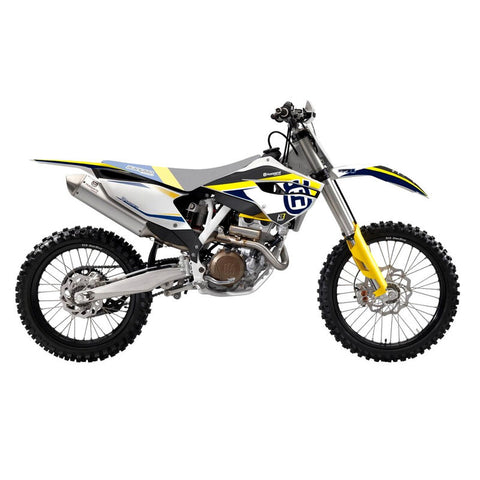 Kit de autocolantes BLACKBIRD DREAM 4 para HUSQVARNA TC/FC 14-15 TE/FE 14-16