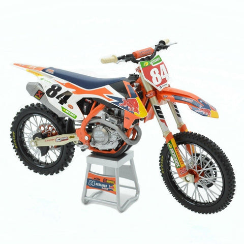 Miniatura Original KTM 450 SX-F FACTORY RED BULL 2019 JEFFREY HERLINGS