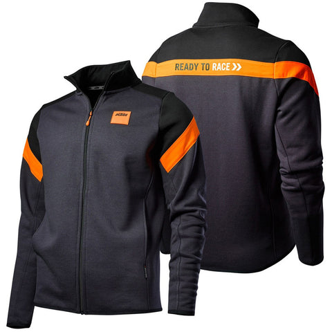Sweat com fecho central KTM MECHANIC ZIP 2019