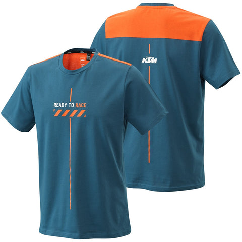 T-shirt KTM PURE STYLE TEE BLUE 2021