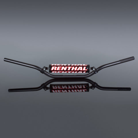 Guiador RENTHAL 22mm ENDURO MEDIUM Preto