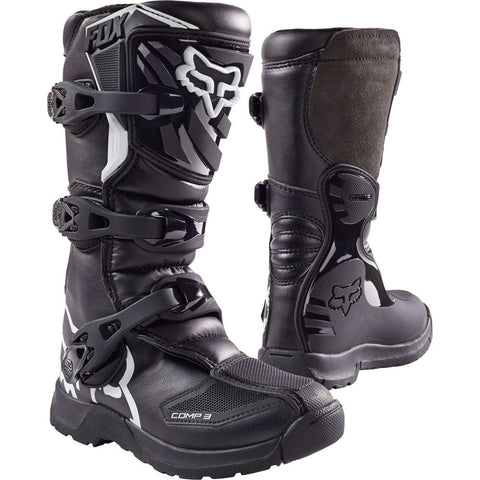 Botas Fox Comp 3 Junior Preto