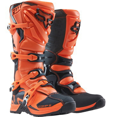 Botas Fox Comp 5 Junior Laranja