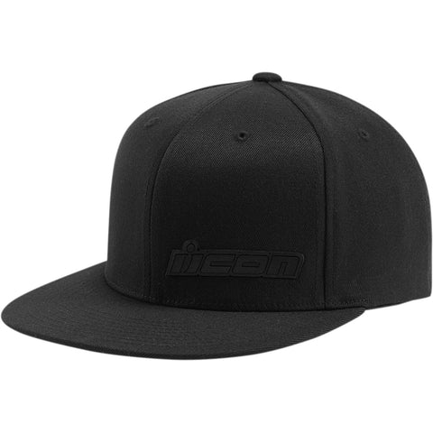 Boné ICON FUSED™ FLAT BILL Preto