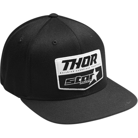 Boné THOR STAR RACING Preto 2020