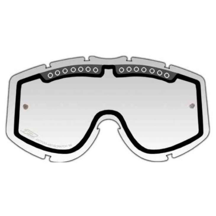 Lentes Duplas Ventiladas PROGRIP LIGHT SENSITIVE Transparente