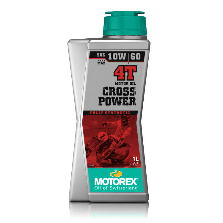 Óleo MOTOREX CROSS POWER 4T 10W/60 1 Litro