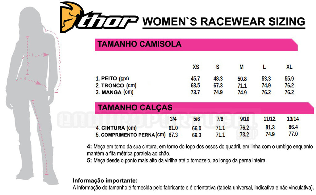 Calças THOR WOMENS PULSE DEPTHS 2019