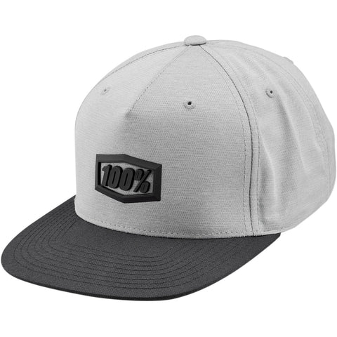 Boné 100% ENTERPRISE Snapback Charcoal