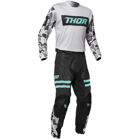 Conjunto THOR PULSE AIR FIRE Cinza Claro/Preto 2020