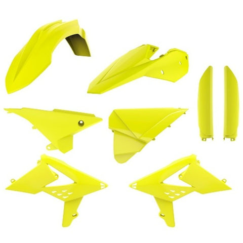 Kit de plásticos POLISPORT FULL KIT BETA RR 2T/4T 13-17 Amarelo Flúor