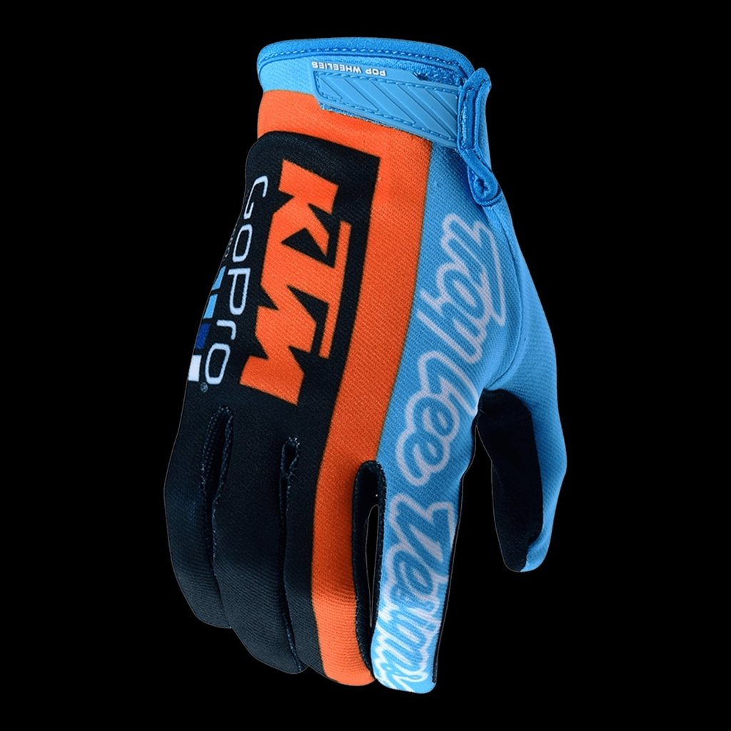 Luvas TROY LEE DESIGNS AIR KTM TEAM Azul