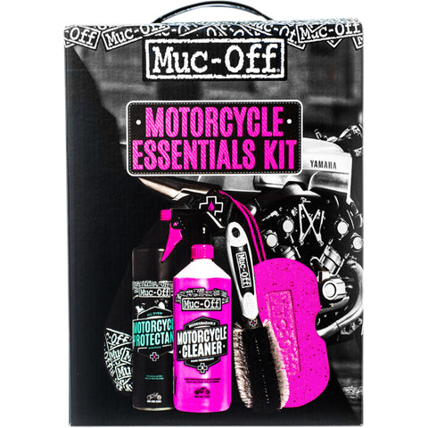 Kit de Limpeza MUC-OFF MOTORCYCLE ESSENTIALS KIT