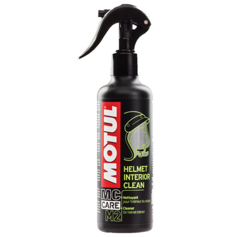 Spray Limpeza MOTUL M2 HELMET INTERIOR CLEAN 250 ml - Limpeza Interior do Capacete