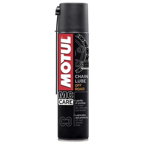Spray óleo de corrente MOTUL C3 OFF ROAD 400 ml