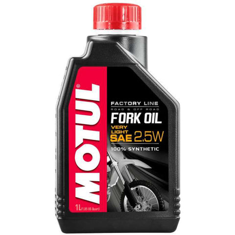 Óleo para Forquilhas MOTUL FACTORY LINE VERY LIGHT 2.5W 1 Litro