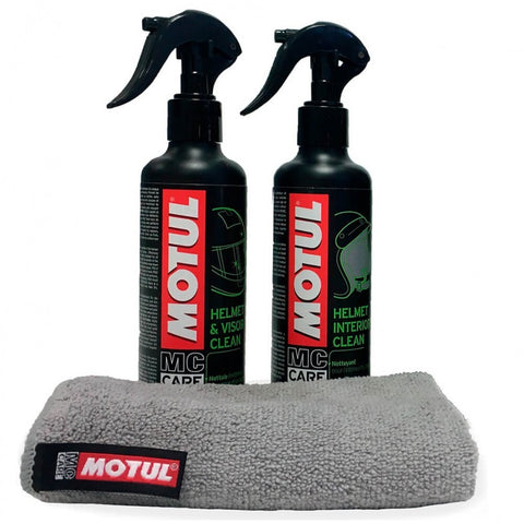 Pack Limpa Capacete MOTUL MC CARE M1+M2