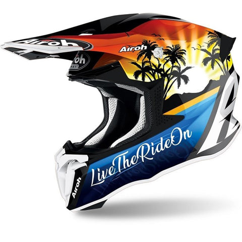 Capacete AIROH TWIST 2.0 LAZYBOY 2021