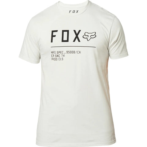 T-shirt FOX NON STOP PREMIUM LIGHT GREY