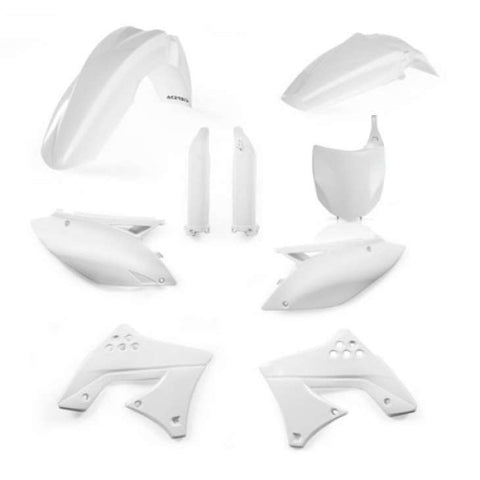 Kit de plásticos ACERBIS FULL KIT KAWASAKI KX 450 F 09-11 Branco