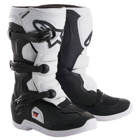 Botas Alpinestars Tech 3S Junior Preto/Branco