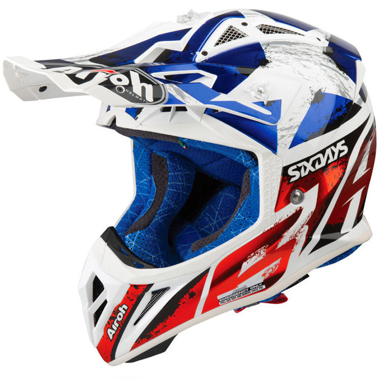 Capacete AIROH AVIATOR 2.3 SIX DAYS 2019