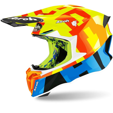 Capacete AIROH TWIST 2.0 FRAME Amarelo Gloss 2020