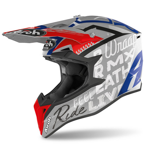 Capacete AIROH WRAAP STREET Cinza Gloss 2020