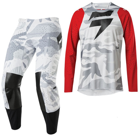 Conjunto SHIFT 3LUE LABEL SNOW CAMO 2020