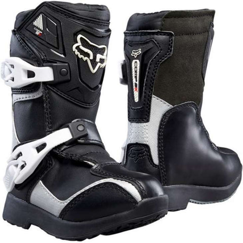Botas Fox Peewee Comp 5 K Junior Undertown Preto