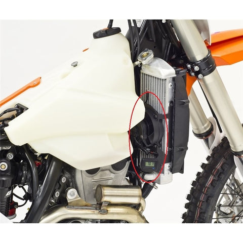Kit Electroventilador Digital TRAIL TECH para KTM 2T/4T 2017-2019