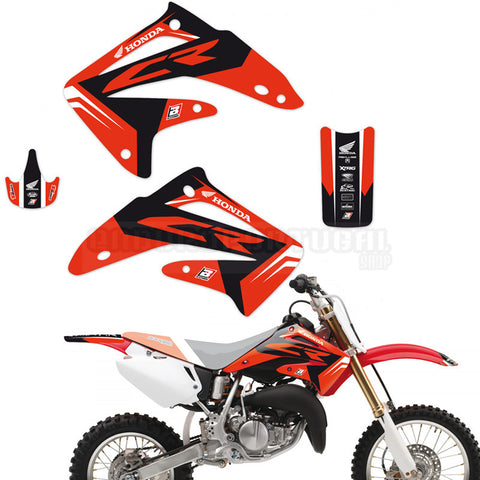 Kit de Autocolantes BLACKBIRD DREAM 4 HONDA CR 85 03-07