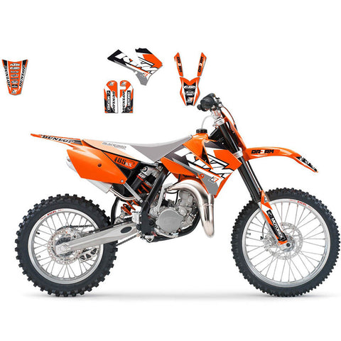 Kit de autocolantes BLACKBIRD DREAM 3 para KTM SX 85 06-12