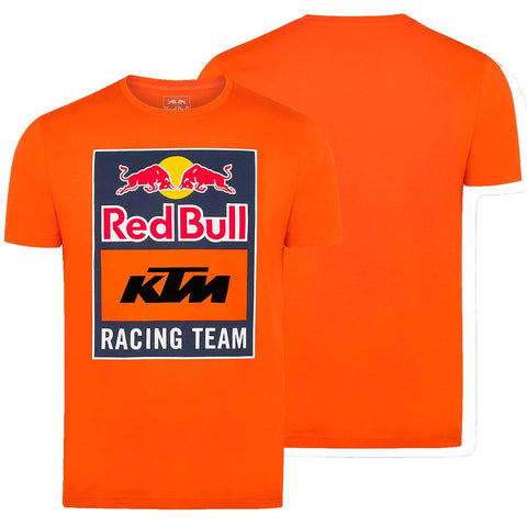 T-shirt RED BULL KTM RACING TEAM EMBLEM Laranja