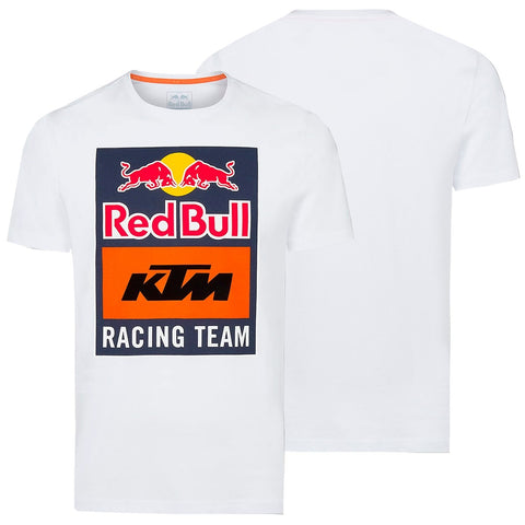 T-shirt RED BULL KTM RACING TEAM EMBLEM Branco