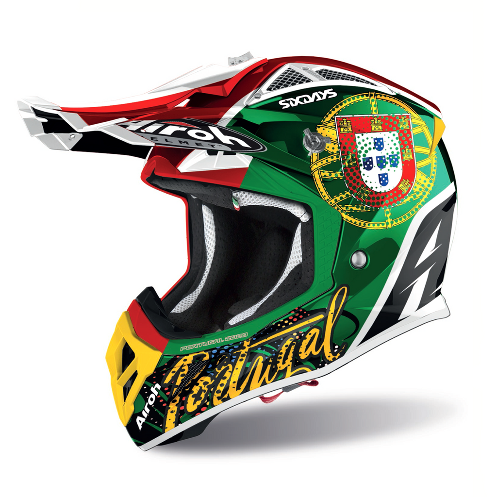 AIROH Capacete AVIATOR 2.3 SIX DAYS PORTUGAL 2020