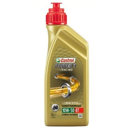 Óleo CASTROL POWER 1 RACING 4T 10W/50 1 Litro