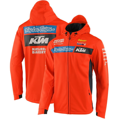 Casaco Softshell KTM TROY LEE DESIGNS TEAM PIT Laranja 2020