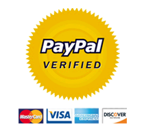 PayPal approved | Pay with PayPal and have control over your funds! Pay with your credit/debit card