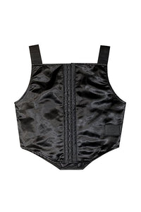 BLACK 3M LIGHTREFLECTING CORSET