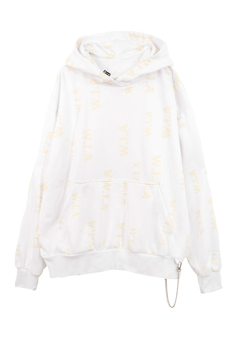 CLEAR OVERSIZE HOODIE
